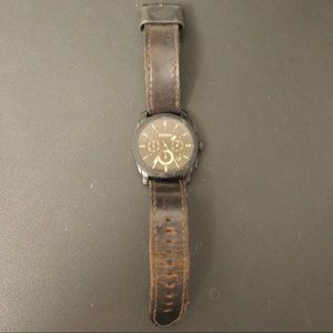 Fossil Accessories - Fossil Watch Brown Leather Strap
